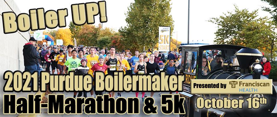 Purdue Boilermaker Half-Marathon and 5K header