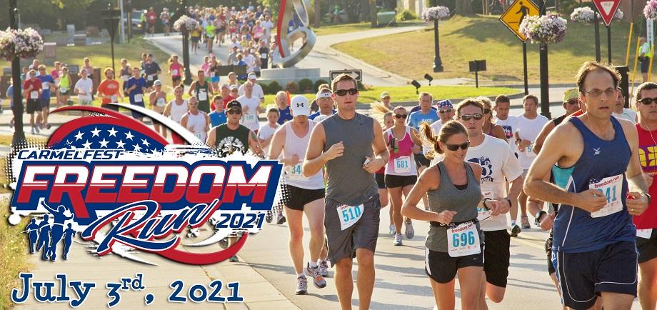 Freedom Run header